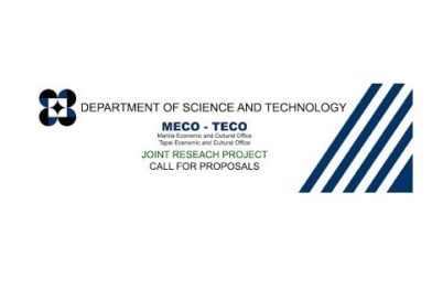 2017 Manila Economic and Cultural Office-Taipei Economic Cultural Office (MECO-TECO) Joint Research Project Call for Proposals