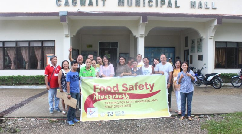 Food Safety Awareness Training move Cagwait locals to be more vigilant