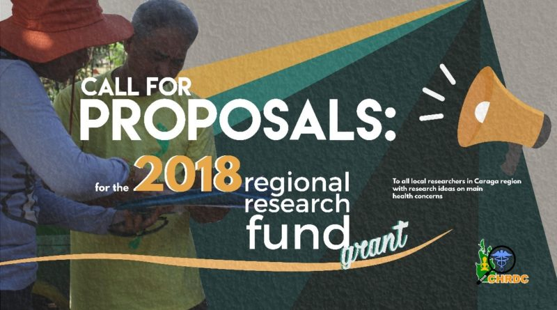 Call for Proposals: 2018 RRF Grants