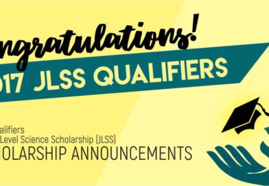ANNOUNCEMENT: 140 Qualifiers of the Junior Level Science Scholarship