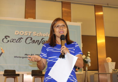 DOST push scholars to pursue Science Career after grad
