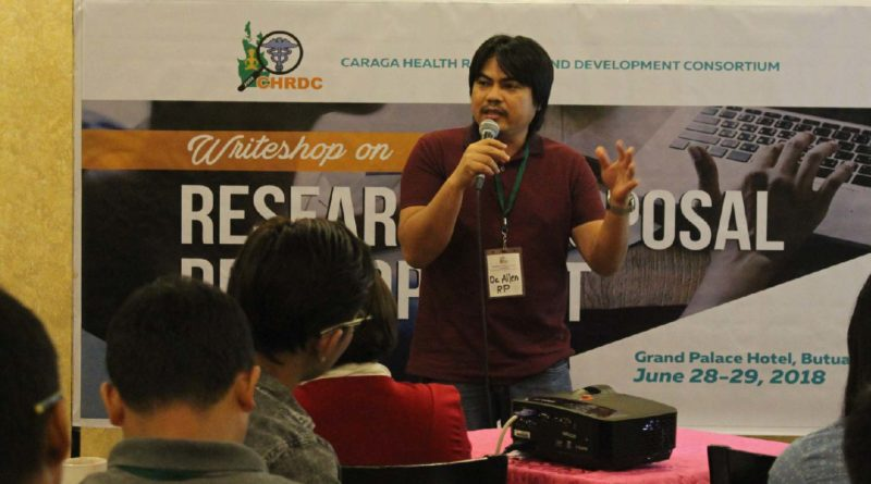 Caraga researchers join writeshop on health research dev
