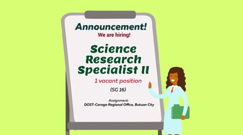 HIRING: One vacant position for SRS II