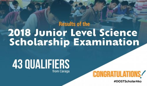 43 Caraganons qualify for 2018 Junior Level Science Scholarship