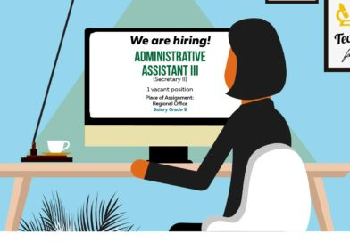 Hiring: Administrative Assistant III for DOST-Caraga