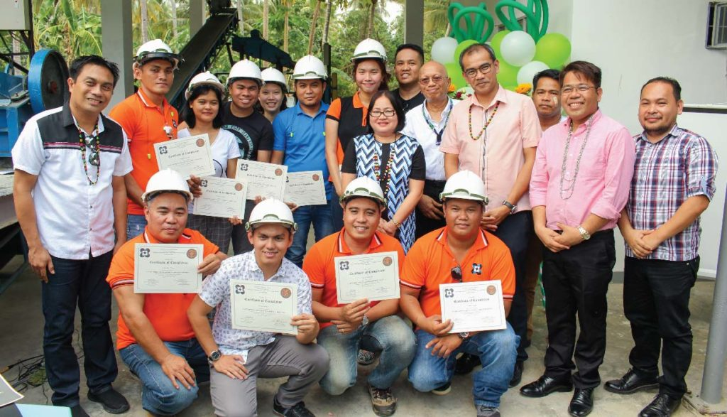 First batch of trainees from DOST-Caraga and Caraga State University for Plant Operations and Management